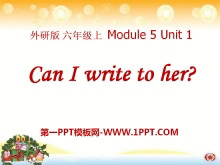 《Can I write to her》PPT课件3