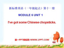 《I've got some Chinese chopsticks》PPT课件