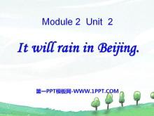 《It will rain in Beijing》PPT课件