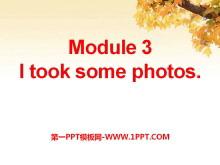 《I took some photos》PPT�n件