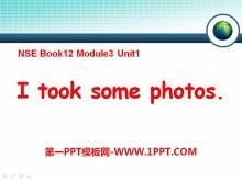 《I took some photos》PPT�n件2