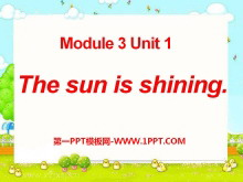 《The sun is shining》PPT�n件4