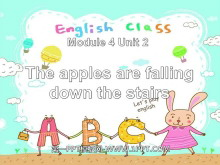 《The apples are falling down the stairs》PPT�n件2
