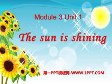 《The sun is shining》PPT�n件9