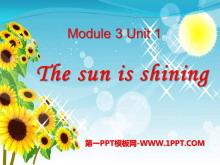 《The sun is shining》PPT课件9