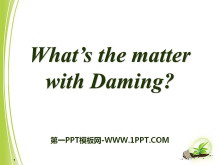 《What's the matter with Daming?》PPT课件2