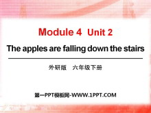 《The apples are falling down the stairs》PPT�n件5