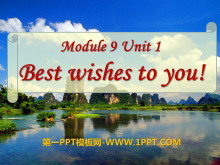 《Best Wishes to you》PPT�n件3