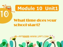 《What time does your school start?》PPT课件2