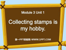 《Collecting stamps is my hobby》PPT课件6