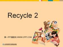 人教版PEP三年级英语下册《recycle2》分课时教学建议PPT课件