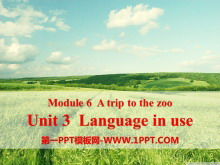 《Language in use》A trip to the zoo PPT�n件