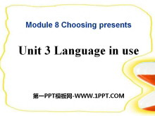 《Language in use》Choosing presents PPT课件3