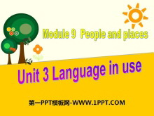 《Language in use》People and places PPT课件