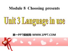 《Language in use》Choosing presents PPT课件2