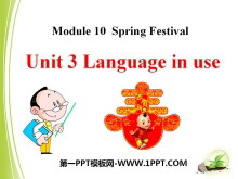《Language in use》Spring Festival PPT课件3