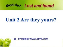 《Are they yours?》Lost and found PPT课件2
