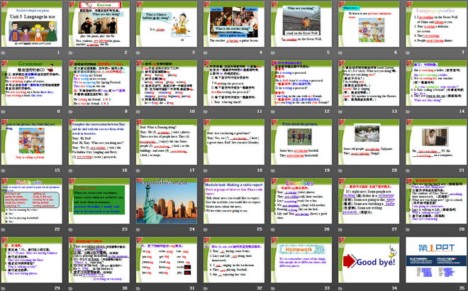 《Language in use》People and places PPT�n件3