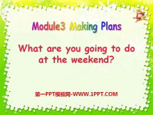 《What are you going to do at the weekends?》Making plans PPT课件4