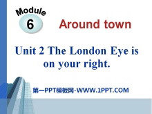 《The London Eye is on your right》around town PPT课件