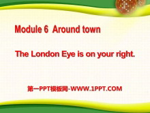 《The London Eye is on your right》around town PPT�n件2