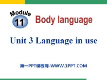 《Language in use》Body language PPT�n件
