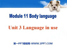 《Language in use》Body language PPT课件2