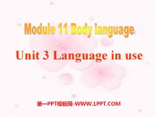 《Language in use》Body language PPT课件3