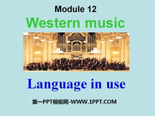 《Language in use》Western music PPT�n件