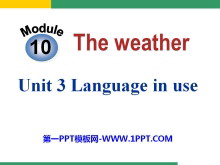《Language in use》the weather PPT课件2