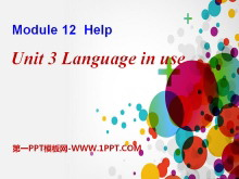 《Language in use》Help PPT�n件4