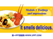 《It smells deliciou》Feelings and impressions PPT课件3