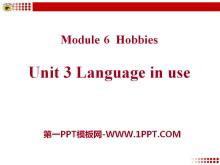 《Language in use》Hobbies PPT课件