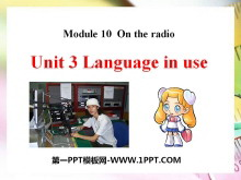 《Language in use》On the radio PPT�n件2