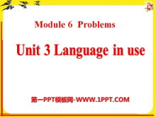《Language in use》Problems PPT课件