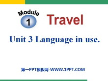 《Language in use》Travel PPT课件3