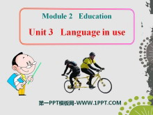 《Language in use》Education PPT课件