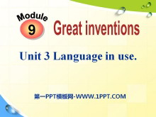 《Language in use》Great inventions PPT课件