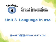 《Language in use》Great inventions PPT课件3
