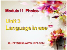《Language in use》Photos PPT�n件