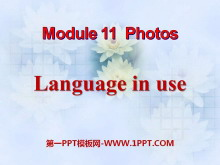 《Language in use》Photos PPT�n件2