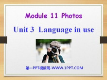 《Language in use》Photos PPT�n件3