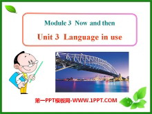 《Language in use》Life now and then PPT课件2