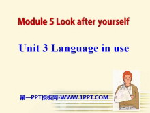 《Language in use》Look after yourself PPT课件