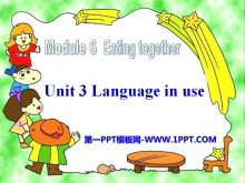 《Language in use》Eating together PPT课件