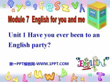 《Have you ever been to an English corner?》English for you and me PPT课件