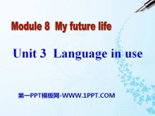 《Language in use》My future life PPT课件2