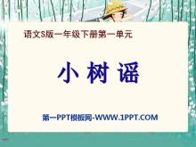 《小树谣》PPT课件2