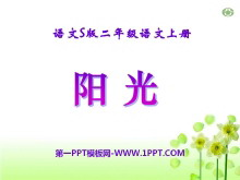 《阳光》PPT课件9