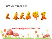 《春天在哪里》PPT课件7